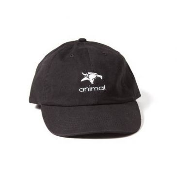 CASQUETTE ANIMAL 5 PANEL CAMO BLACK