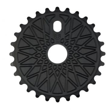 BMX SPROCKET FEDERAL BBS SOLID BLACK / POLISH