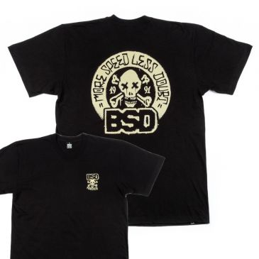"TSHIRT BSD MORE SPEED ""GRIME"" BLACK"