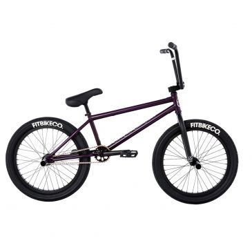 BMX FIT BIKE STR FREECOASTER (LG) 20,75'' TRANS MATTE PURPLE 2021