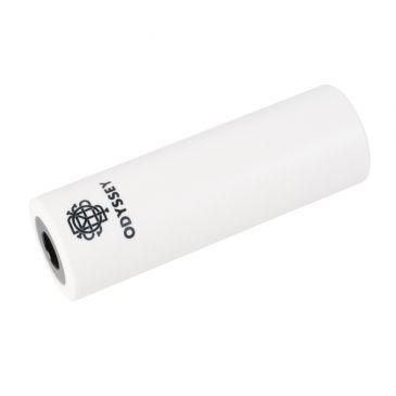 PEGS BMX ODYSSEY CROMO / PLASTIQUE GRADUATED WHITE