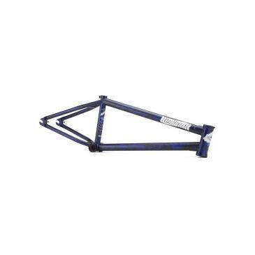CADRE BMX KINK CLOUD MATTE STORM BLUE (TRAVIS HUGHES)