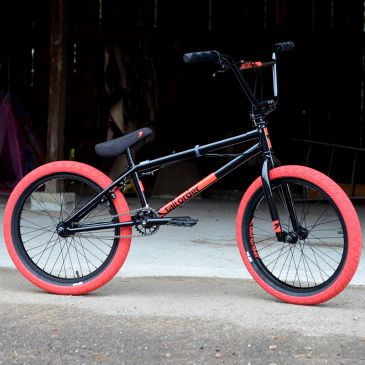 "BMX CUSTOM BROS SUBROSA TIRO XL 21"" TRANS SMOKE BLACK 2021"