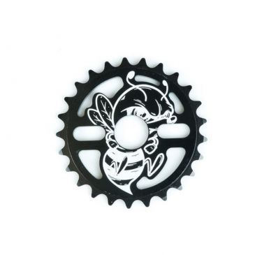 BMX SPROCKET TOTAL BMX KILLABEE BLACK YELLOW