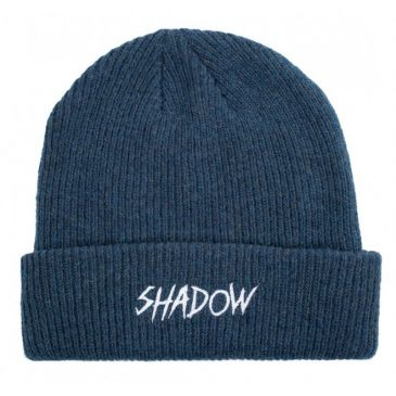 BONNET SHADOW LIMEWIRE WOOL NAVY BLUE