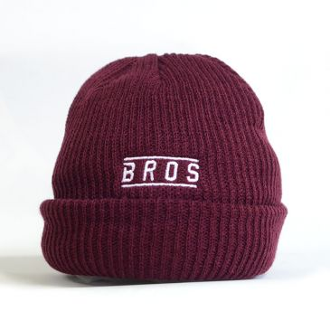 BEANIE BROS EMBROIDERED PETROL