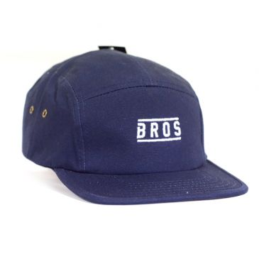 CASQUETTE BROS 5 PANELS NAVY