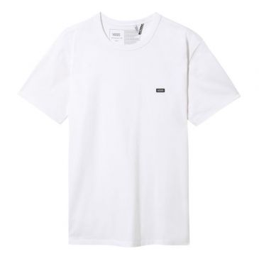 TEESHIRT VANS OFF THE WALL CLASSIC PATCH BRODEE WHITE