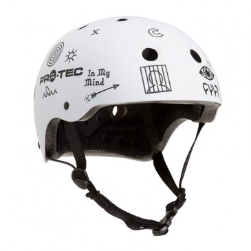 CASQUE BMX CULT X PROTEC CLASSIC CERTIFIED WHITE