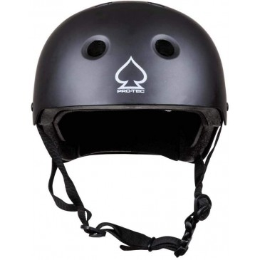BMX HELMET PROTEC FULL CUT MATT BLACK