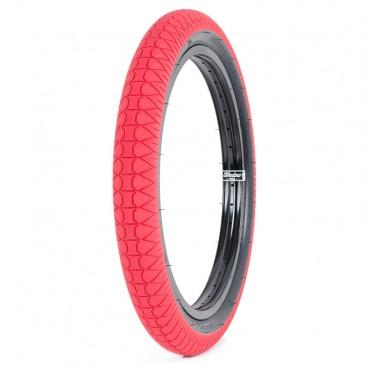 PNEU BMX SUBROSA DESIGNER RED / BLACK WALL