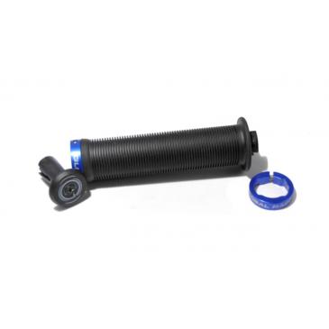 POIGNEES BMX GLOBAL RACING LOCK-ON 145MM BLACK/BLUE