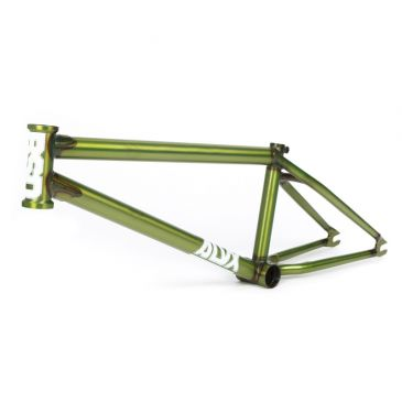 BMX FRAME BSD ALVX AF FLAT TRANS LIMEADE (DONNACHIE) 2021