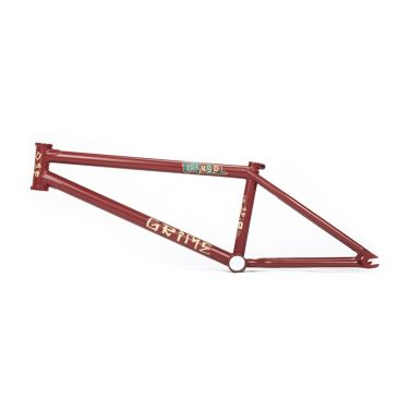 BMX FRAME BSD GRIME FLAT RUSTED RED 2021 (COX)