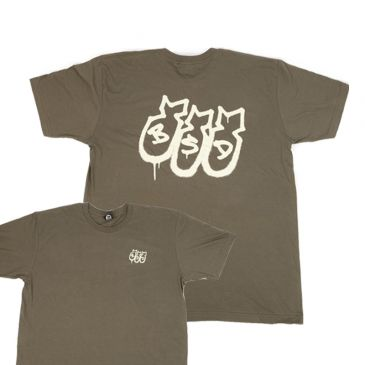 TSHIRT BSD SECOND STRIKE MILITARY GREEN