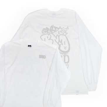 TSHIRT BSD LONG SLEEVES GRAF WHITE