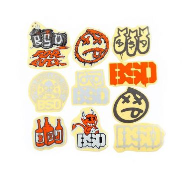 STICKERS PACK BSD 2020