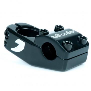 POTENCE BMX TALL ORDER LOGO BLACK / SILVER