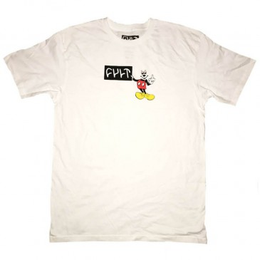 TEESHIRT BMX CULT HEY YOU WHITE