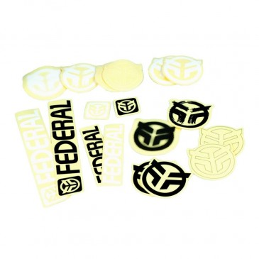 PACK DE 18 STICKERS FEDERAL