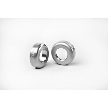 BMX BAR ENDS AUTUM SILVER