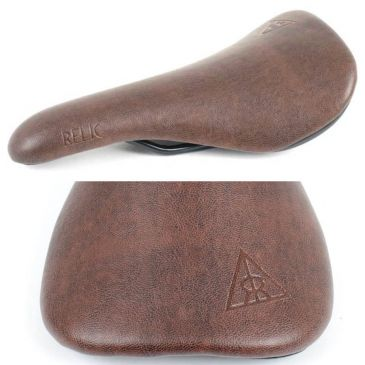 SELLE BMX RELIC CHOICE BROWN A RAIL