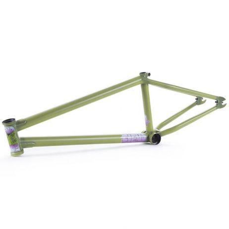 BMX FRAME FIEND TY MORROW V4 CRACK GREEN