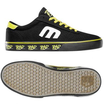"Etnies ""Calli Vulc X RAD"" Shoes - Black/Yellow"