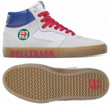 Etnies Screw Vulc Mid X Rad Shoes White / Gum