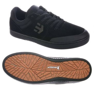 CHAUSSURES BMX ETNIES MARANA X MICHELIN BLACK RED GUM
