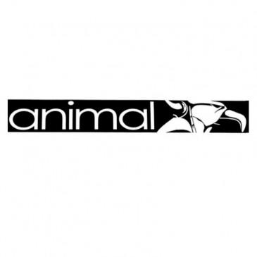 RAMP STICKER ANIMAL BLACK