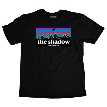 TSHIRT SHADOW OUT THERE BLACK