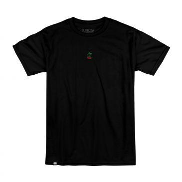 TSHIRT SUBROSA ROSE BLACK