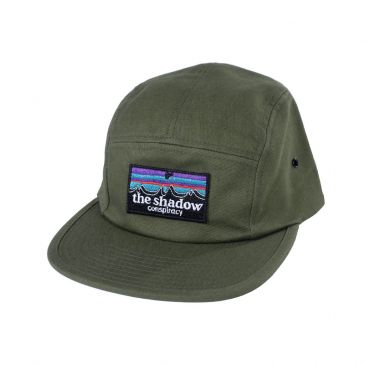 CASQUETTE SHADOW OUT THERE CAMP OLIVE