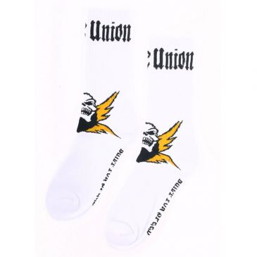 CHAUSSETTES BICYCLE UNION SPEED WHITE