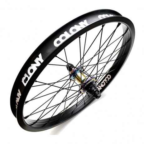 ROUE ARRIERE BMX COLONY WASP/PINTOUR OIL SLICK