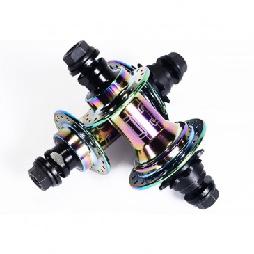 MOYEU ARRIERE BMX COLONY WASP OIL SLICK