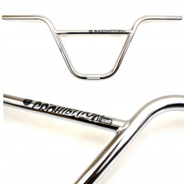 GUIDON BMX FOUNDATION PROHIBITION 9 CHROME