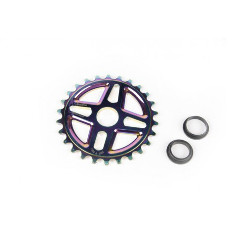 COURONNE BMX SALT PLUS CENTER OIL SLICK