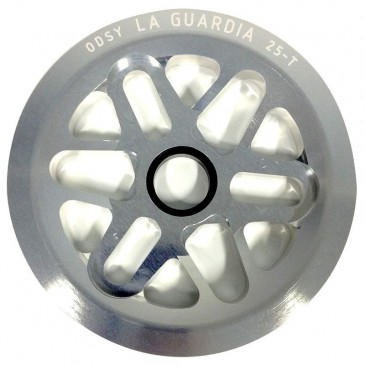 COURONNE BMX FULLGUARD ODYSSEY LA GUARDIA CHROME