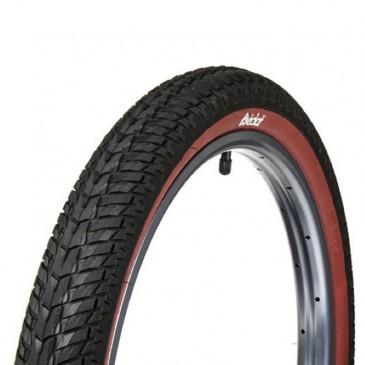 PNEU BMX ECLAT CONTROL BLACK/RED WALL