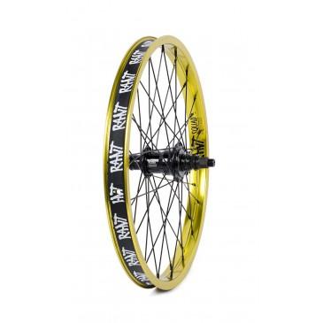 ROUE ARRIERE BMX RANT FREECOASTER MOONWALKER LEMON GREEN