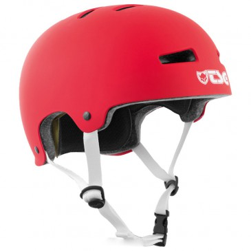 CASQUE TSG EVOLUTION SOLID SATIN FIRE RED