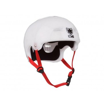 CASQUE TSG EVOLUTION SPECIAL MAKEUP CLEAR WHITE