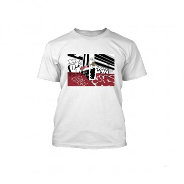 TSHIRT ANIMAL FRKO BANKS WHITE