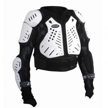 GILET SHOT ANATOMIQUE KID BLACK/WHITE