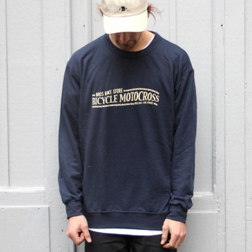 SWEAT BROS BICYCLE MOTOCROSS NAVY