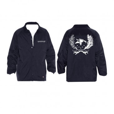 VESTE COUPE VENT ANIMAL NAVY (WINDBREAKER)