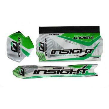 KIT DE 3 MOUSSES BMX RACE INSIGHT VERT