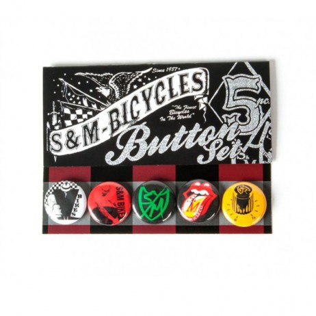 PACK DE BADGES BMX S&M